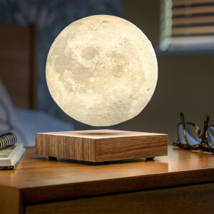 Gingko Smart Moon Lamp - Walnut from I Want One Of Those