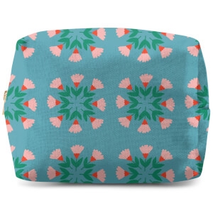 Circle Bunch Florals Wash Bag