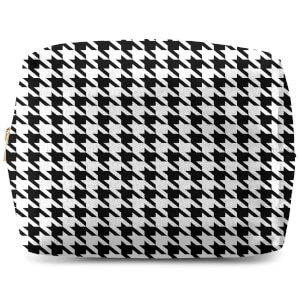Monochrome Dogtooth  Wash Bag