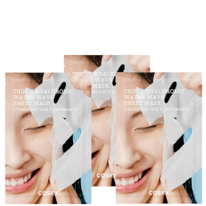 COSRX Triple Hyaluronic Water Wave Sheet Mask (Pack of 3)