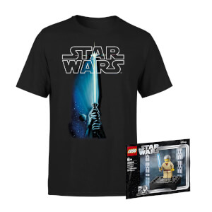 Star Wars Tee & LEGO Minifigure Bundle