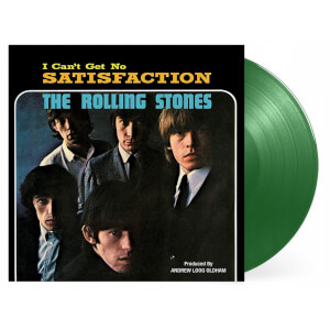 """The Rolling Stones - (I Cant Get No) Satisfaction (55th Anniversary Edition) (Emerald Vinyl) 12"""""""