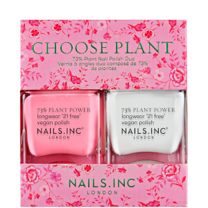 nails inc. Choose Plant Duo