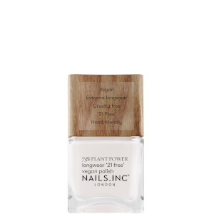 nails inc. 73% Plant Power Nail Varnish - Free Time is Me Time 14ml