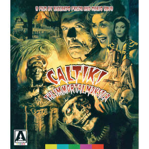 Caltiki The Immortal Monster (Includes DVD)