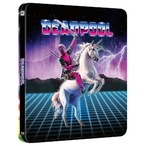 Marvel Studio's Deadpool - Zavvi Exclusive 4K Ultra HD Lenticular Steelbook (Includes Blu-ray)