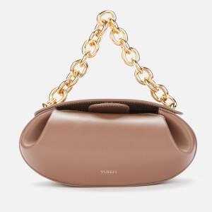Yuzefi Women's Dinner Roll Leather Shoulder Bag - Terra