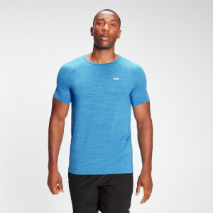 MP Men's Performance Short Sleeve T-Shirt - Bright Blue Marl