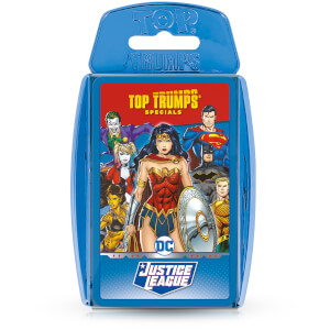 Top Trumps Card Game - Justice League Edition