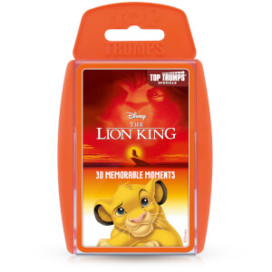 Top Trumps Card Game - The Lion King Edition