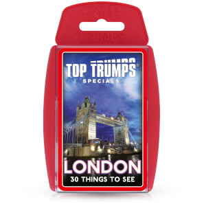 Top Trumps Card Game - London 30 Things to See Edition