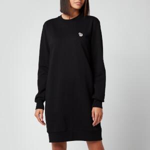 PS Paul Smith Women's Zebra Sweatshirt Dress - Black