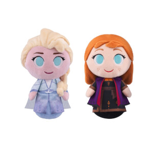 Disney Frozen 2 Anna & Elsa SuperCute Plush Bundle
