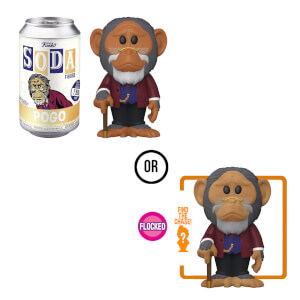 Umbrella Academy Pogo Vinyl Soda Figure in Collector Can