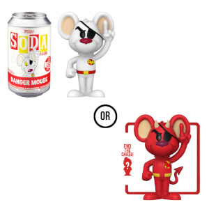 Danger Mouse Vinyl Soda Figure in Collector Can