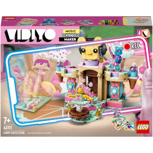 LEGO VIDIYO Candy Castle Stage BeatBox Video Maker Toy (43111) from I Want One Of Those