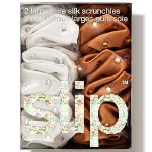 Slip Crystal Scrunchie Set - Stardust