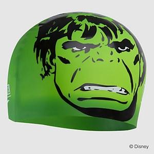 Bonnet be bain enfant Marvel Slogan Print Hulk Vert