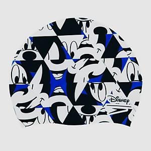 Kinder Mickey Mouse Slogan Print Badekappe in Blau