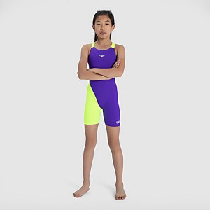 Girl's Fastskin Junior Endurance+ Openback Kneeskin Violet