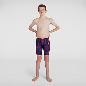 Boy's Fastskin Junior Endurance+ High Waisted Jammer Black