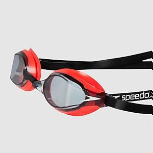 Adult Fastskin Speedsocket 2 Goggles Red/Smoke