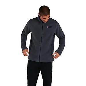 Men's Prism Polartec Interactive Fleece Jacket - Dark Grey