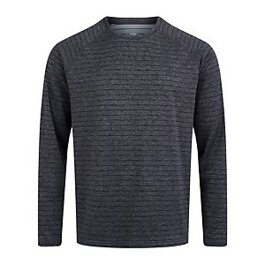 Men's Thermal Tech Tee Long Sleeve Baselayer - Grey