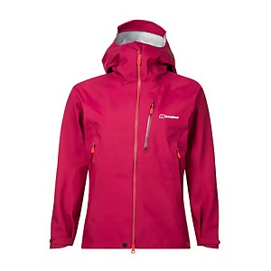 Women's Extrem 5000 Vented Waterproof Jacket - Dark Pink