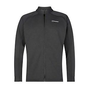 Men's Caldey Fleece Jacket - Black / Dark Grey