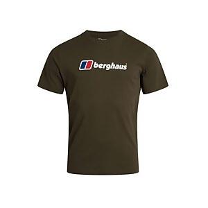 Men's Berghaus Large Logo T-Shirt - Dark Green