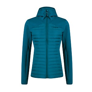 Women's Nula Hybrid Insulated Jacket - Dark Turquoise