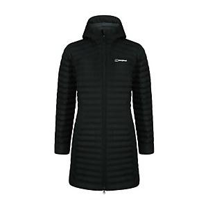 Women's Nula Micro Long Insulated Jacket - Black