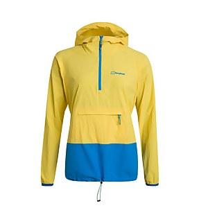 Women's Skerray Smock Jacket - Yellow / Blue