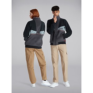 Unisex Tramantana 91 Fleece Jacket - Black