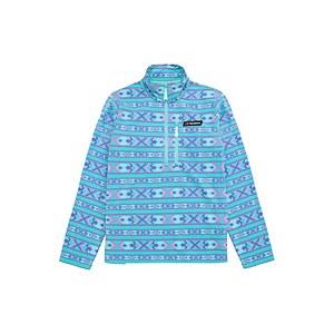 Unisex Prism Printed Half Zip Fleece - Aztec Capri