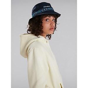 Unisex Aztec Bucket Hat - Dark Blue
