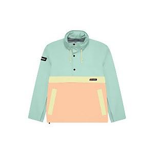 Unisex Ski Smock 86 Waterproof Jacket - Pink / Turquoise / Green