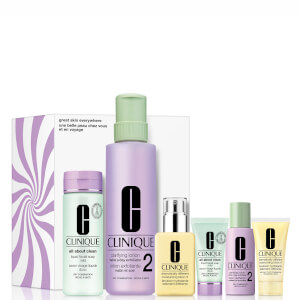 Clinique Great Skin Everywhere Set for Dry-Combination Skin (Worth $176.00)