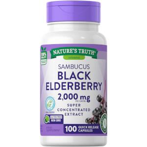 Sambucus Black Elderberry 1000mg