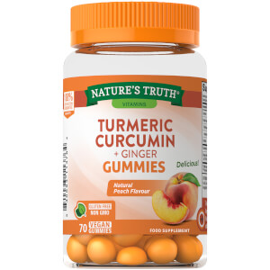 Turmeric Curcumin Gummies with Ginger Extract