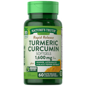 Turmeric Curcumin + Ginger, Astragalus & Black Pepper