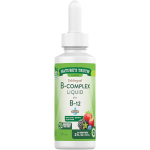 Sublingual B Complex Liquid + B12