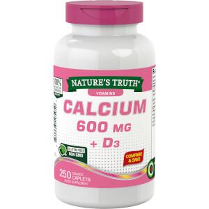 Calcium 600mg + Vitamin D3 800IU