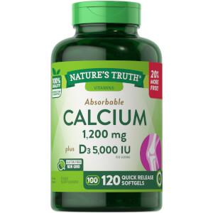 Calcium 600mg + Vitamin D3 2500IU