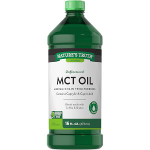 100% Pure Unflavoured MCT Oil