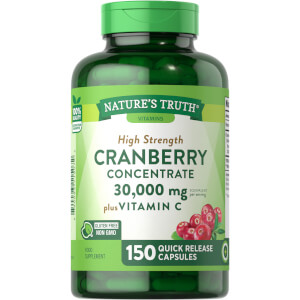Cranberry Concentrate 30,000mg + Vitamin C