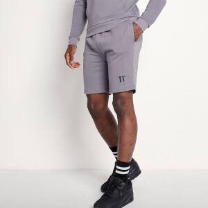 Men's Small Logo Sweat Shorts - Charcoal