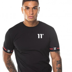 Men's Cuffed T-Shirt - Black