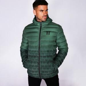 Men's Ombre Print Space Jacket Khaki/Black/Ombre